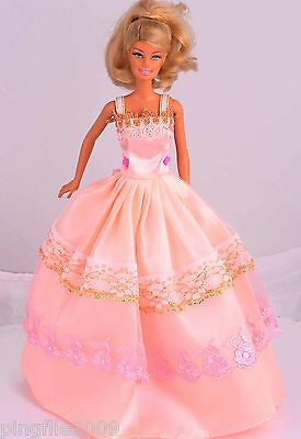 New Handmade Party Dress Clothes Outfits For Barbie Doll #929