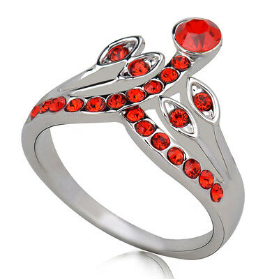 Hot sale new fashion inlaid upscale jewelry S80 Silver CZ rings    **R419-7
