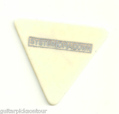 SYSTEM OF A DOWN DARON MALAKIAN TOUR GUITAR PICK TRIANGLE