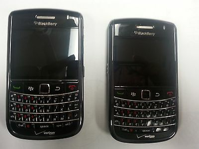 2 BlackBerry Bold 9650 - Black (Verizon) Smartphone