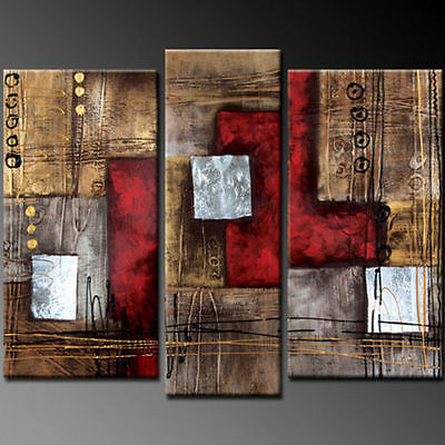 HOT SALE MODERN ABSTRACT HUGE WALL ART OIL PAINTING ON CANVAS(No Framed)