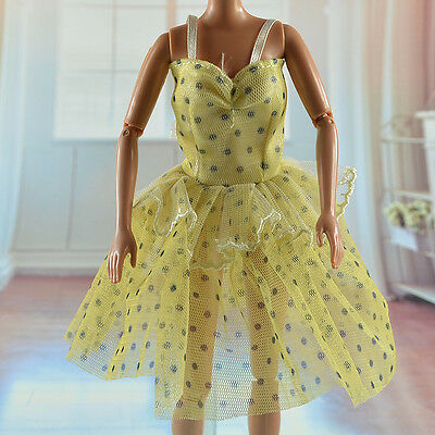 lovely New Handmade Party Clothes Fashion Dress for Noble Barbie Doll   *&*bab12