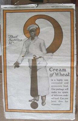 Cream of Wheat Full Page The Companion Newspaper Advertisement 1918
