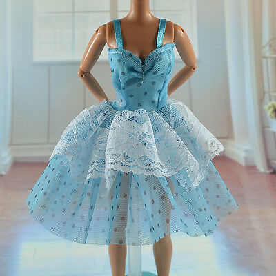lovely New Handmade Party Clothes Fashion Dress for Noble Barbie Doll   **bab02