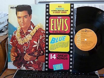 LP ELVIS PRESLEY BLUE HAWAII RCA SX-246 INPORT JAPAN GATEFOLD/BOOKLET MINT -