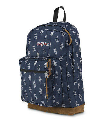 """NWT JANSPORT """"RIGHT PACK WORLD"""" 15"""" LAPTOP BACKPACK-TOKYO NIGHTS-AUTHENTIC - $60"""