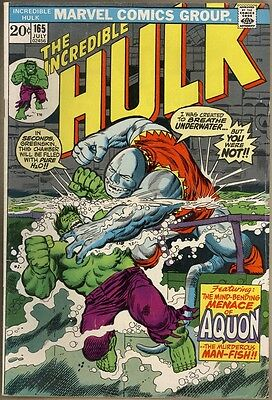 Incredible Hulk #165 - VG-