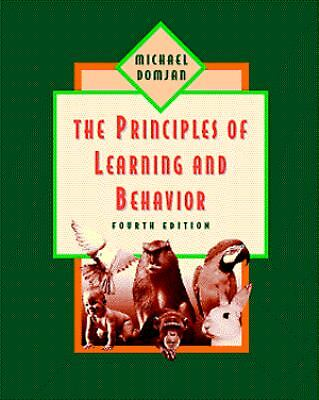 Principles of Learning and Behavior by Michael P. Domjan (1997, Spiral)