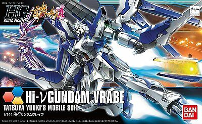 Gundam Build Fighters HGBF #029 Hi-Nu Gundam Vrabe 1/144 Model Kit Bandai USA