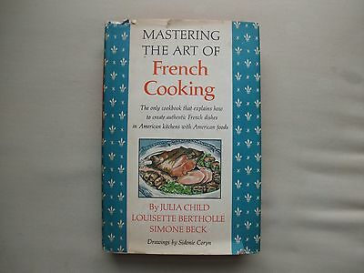 Mastering The Art of French Cooking Cookbook Julia Child 1970 Book Club Edition