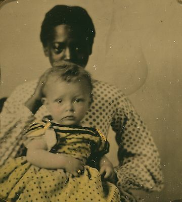1902 African American black mother and baby child 5 x 7 reprint