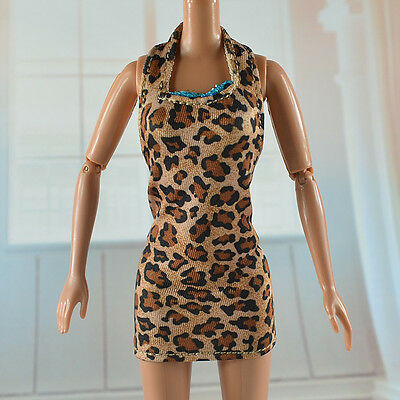 lovely New Handmade Party Clothes Fashion Dress for Noble Barbie Doll   **bab89