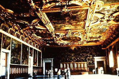 #AA396-1950's-35mm SLIDE- PALACE OF DOGES VIENNA, AUSTRIA