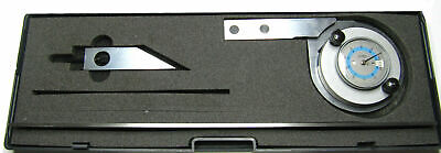 Rdgtools Dial Bevel Protractor Without Magnification 0-360 Degrees
