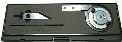 Rdgtools Protractor With Magnifyer 0-360 Degrees Measuring Tools