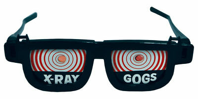X-Ray Gogs Goggles Glasses Specs Adult Funny Gag Joke Costume Accessory