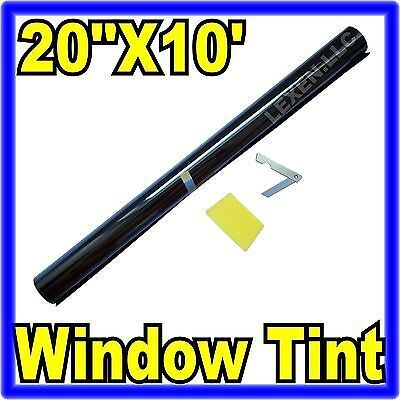 "20"" X 10FT ROLL 35% MEDIUM SHADE WINDOW TINTING FILM TINT UNCUT 20""x10' 35% b"