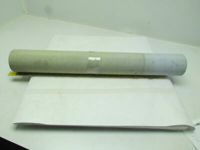 """2-Ply Blue PVC Rubber Smooth Top Conveyor Belt 29.31"""" Wide 8' Long 0.050"""" Thick"""