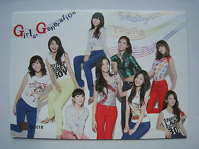 SNSD Girls Generation Star Card S-1 Group Touch Rare GG018