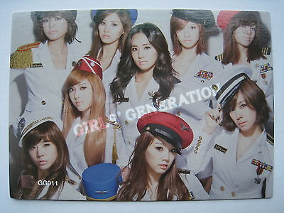 SNSD Girls Generation Star Card S-1 Group Touch Rare GG011