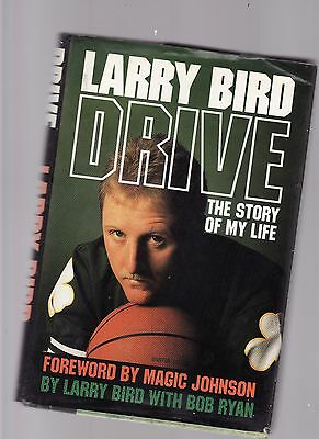 Drive : The Story of My Life by Larry Bird and Bob Ryan (1989, Hardcover)