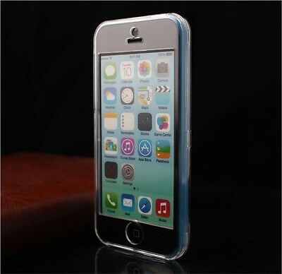 Ultra Clear Crystal Transparent Front and Back Hard Case Cover for iPhone 5C