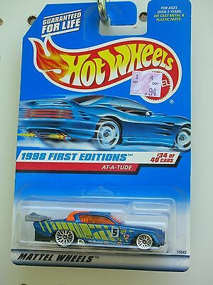 #667 Hot Wheels First Editions 1998 At-A-Tude