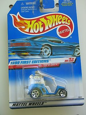 #683 Hot Wheels First Editions 1999 Tee'd Off Variant-B
