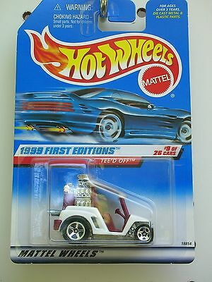 #683 Hot Wheels First Editions 1999 Tee'd Off-X