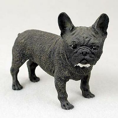 French Bulldog Dog Hand Painted Collectable Figurine Statue