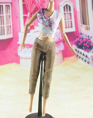 lovely New Handmade Party Clothes Fashion Dress for Noble Barbie Doll   **W47