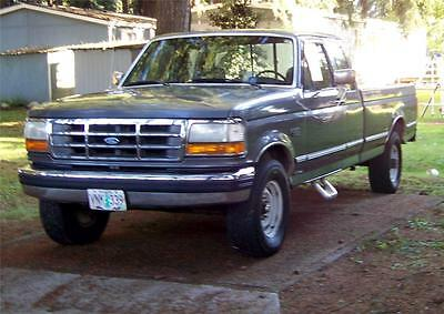 Ford : F-250 3/4 Ton =8800 GVW 1993 ford f 250 pickup 3 4 ton xlt 460 v 8 extended cab super cab rear seat