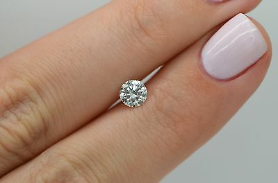 Natural Loose Diamond 0.50 Carat G VS1 Round IDEAL Cut Certified Engagement Ring