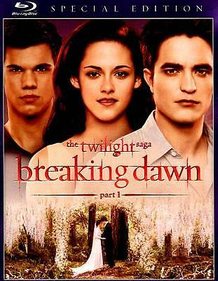 The Twilight Saga: Breaking Dawn - Part 1 (Blu-ray Disc, 2012, Special Edition)
