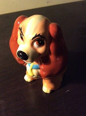 Disney Porcelain Lady Figurine Lady and the Tramp