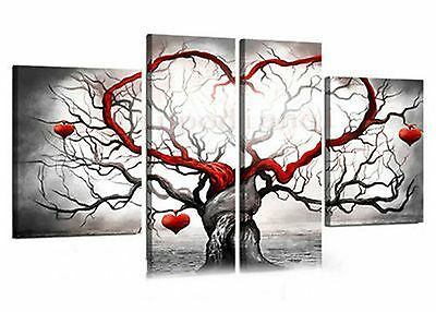 "Modern Abstract Art Oil Painting Wall Deco canvas ""LOVE"" NO FRAME PM0126"
