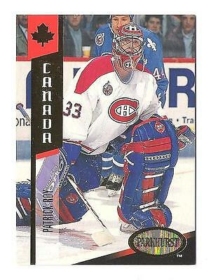 1993-94 Parkhurst Canada Gold #G9 Patrick Roy Montreal Canadiens Avalanche