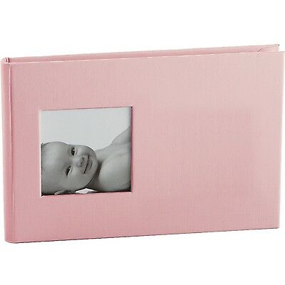 "Pearhead Baby Child Kid Brag Memory Book Photo Album 24 photo 4"" x 6"" PINK #2068"