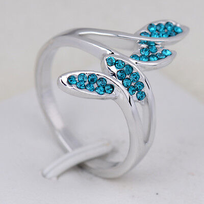 Hot sale new fashion inlaid upscale jewelry S80 Silver CZ rings    **R429-8