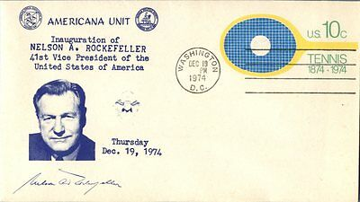 Nelson A. Rockefeller 41St Vice President Of Usa Dec 19 1974 Cover