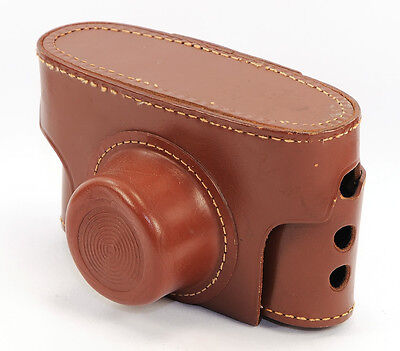 Camera Case - KODAK Brown Fitted Hard Leather Case for PONY Camera –  Vintage