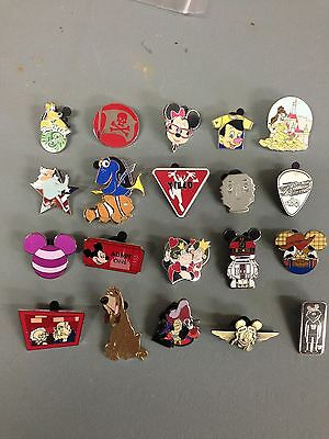 Disney Trading Pin Lot 100, No Duplicates 100% Tradable Grab Bag #16 DPF