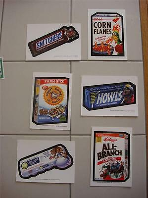 Wacky Packages Postcards Series 9 Complete set of Six Postcards WOW OUT OF PRINT