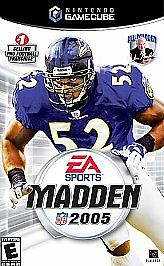 Nintendo GameCube Madden NFL 2005 (Game Disc Only)