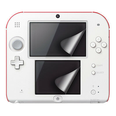 kwmobile 2X TOUCH SCREEN PROTECTOR FOR NINTENDO 2DS CRYSTAL CLEAR MATT FOIL