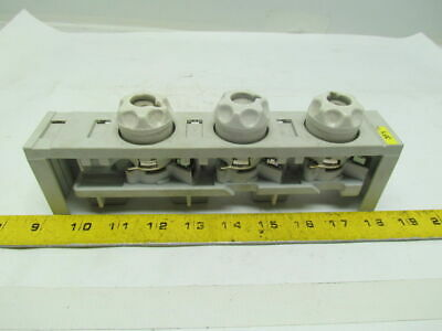 Rittal SV3520/21 3 Pole Fused Clamp W/Cover & Diazed Fuse Holders