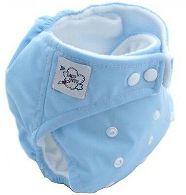 High Quality Blue 1PCS Brand Baby Reusable Washable Nappies Cloth Diaper Nappy