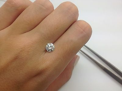 EGL 1.09 CT G VS2 Round EX Cut Certified Natural loose diamond Engagement Ring