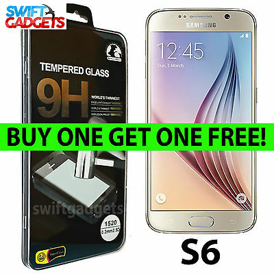Samsung Galaxy S6 SM-G920 Real Tempered Glass Film Screen Protector