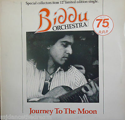 "BIDDU ORCHESTRA ~ Journey To The Moon ~ COLLECTORS LTD ED 12"" Single PS"